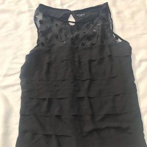 Black sleeveless shirt from Loft